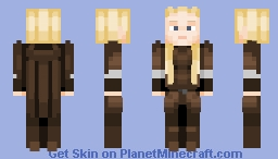 Legolas Greenleaf / Lord of the Rings Character Minecraft Skin