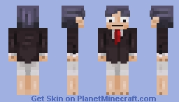 Just your average news anchor... (experimental shading) Minecraft Skin