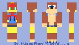 Banjo & Kazooie - Super Smash Bros. Ultimate Minecraft Skin