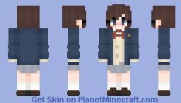 Touka Miyashita / Boogiepop wa Warawanai (2019) Minecraft Skin