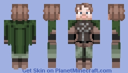 Faramir, Captain of Gondor / Lord of the Rings Character Minecraft Skin