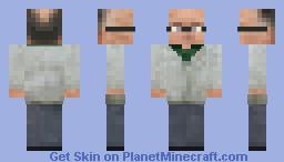 Doctor Isaac Kleiner [HL2 Beta version] Minecraft Skin