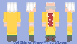 Back To The Future 2: Emmet (Doc) Brown 2015 Minecraft Skin