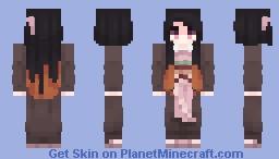 ねずこ / nezuko ♡ Minecraft Skin