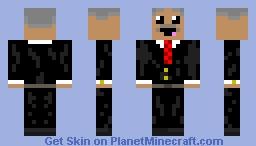 serious derp Minecraft Skin