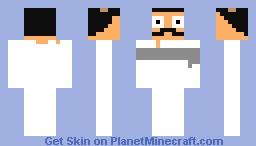bob belcher Minecraft Skin