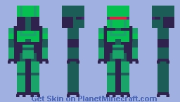 hes green Minecraft Skin
