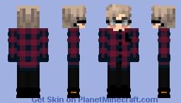 Cute, shy boy Minecraft Skin