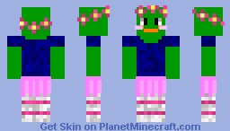 peepoLove updated Minecraft Skin