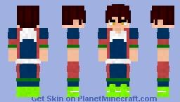 Kanata Hoshijima Minecraft Skin