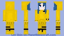 """Billie Eilish From """"Bad Guy"""" {Remake} Minecraft Skin"""