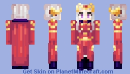 edelgard timeskip - fire emblem three houses Minecraft Skin