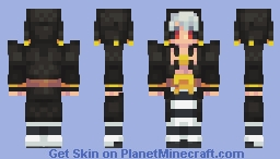 Risotto Nero | Vento Aureo (Alt Colors/Versions in Desc.) Minecraft Skin