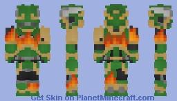 Salamanders Space Marine Minecraft Skin