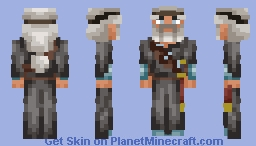 Elder wanderer Minecraft Skin