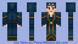 Wizard Steve Minecraft Skin