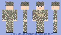 WW2 U.S. Armored Infantry (41st Armored Infantry, 2nd Armored Division) Minecraft Skin