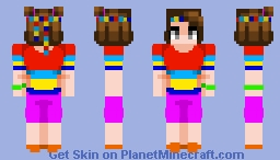 crazy about colors Minecraft Skin