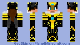 Bee Queen (land of insects contests) Minecraft Skin