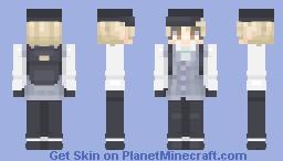 Beta Shuichi || Danganronpa V3 Minecraft Skin