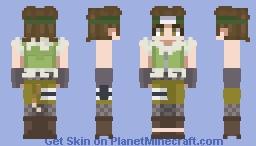 Boruto - Wasabi Izuno Minecraft Skin