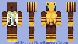 Buff Bee Minecraft Skin