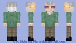 Stan Lee Minecraft Skin