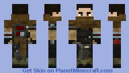 Galen Marek (Heavy Training Gear) Minecraft Skin