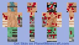 Borderlands 2 - Suicide Psycho Minecraft Skin