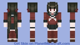 Maki Harukawa - Danganronpa v3 revamped Minecraft Skin