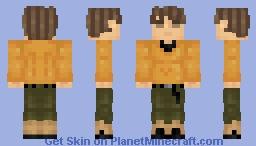 Brock | Pokémon Gold/Silver Minecraft Skin