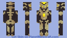 Metal Bug - Land of Insects Minecraft Skin