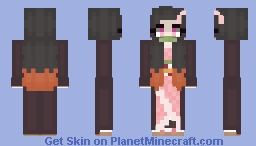 Nezuko Minecraft Skin