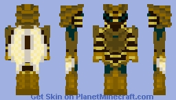 The Keeper Bee Minecraft Skin