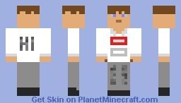 bazoinga Minecraft Skin