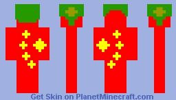 China #1 Minecraft Skin