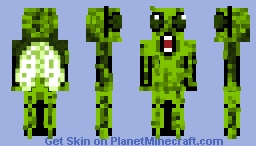 Slimy the Screaming Fly Minecraft Skin