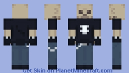 Undead Metal Dude Minecraft Skin