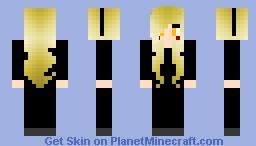 Darth Maria is Darth Robotnik's Old Sith Apprentice  from Sonic x Robotnik Empire Minecraft Skin
