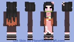 🌸Nezuko Kamado🌸 Minecraft Skin