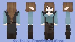 Wandering Elf Minecraft Skin