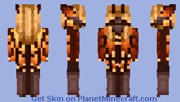 The Monarch | Land Of Insects Contest Minecraft Skin