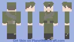 Imperial Russian army Ww1 Minecraft Skin