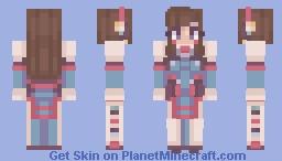"""""""안녕! Nerf This!"""" Minecraft Skin"""