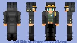 Jotaro Kujo - Stardust Crusaders - JoJo's Bizarre Adventure Minecraft Skin