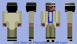 Michael Jackson - Moonwalker (1990) Minecraft Skin