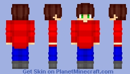 Game Character - Request for The MC Minecraft Skin