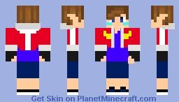 Me as an Altean (alien race from the show Voltron legendary defender (on netflix)) Minecraft Skin