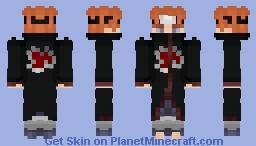 Akatsuki Pain Minecraft Skin