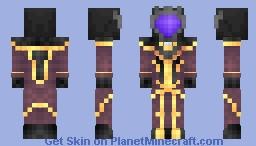 Zero / Lelouch - Code Geass Minecraft Skin
